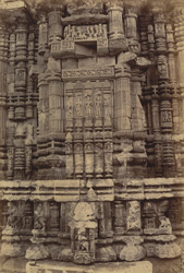 Close view of southern façade of bhadraka, Ananda Vasudeva Temple, Bhubaneshwar